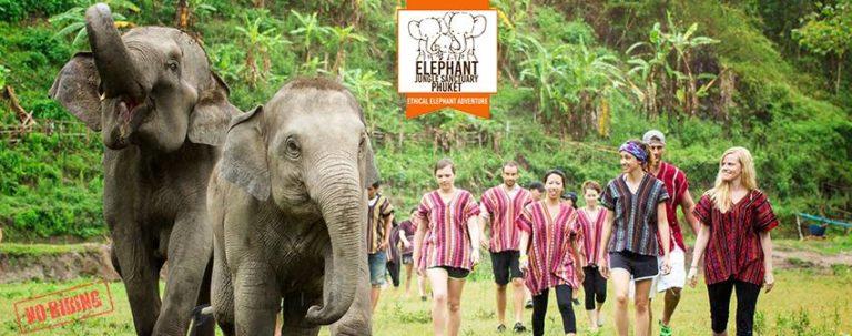 Santuario de elefantes Jungle Phuket 🐘 (EL ORIGINAL)