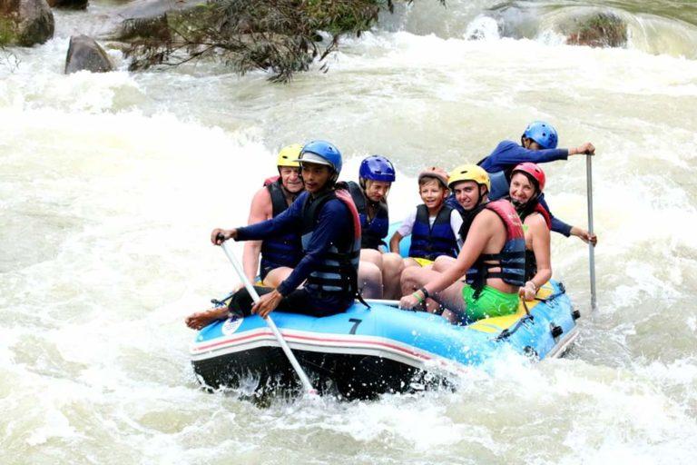 Rafting 9 km + Quads + Paseo en la jungla, Cascadas… (Phang Nga)