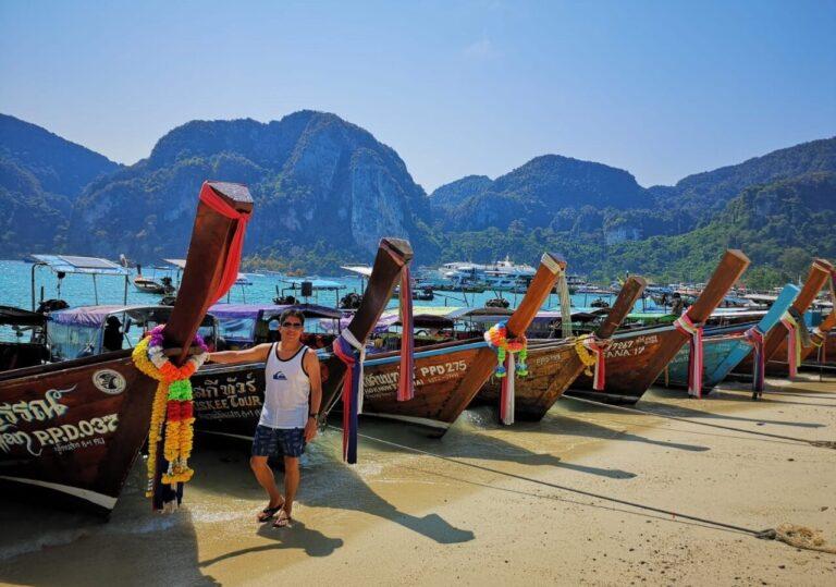 Islas Phi Phi y Khai Isla en lancha motora, ParqueNacional Incluido (Opción económica)